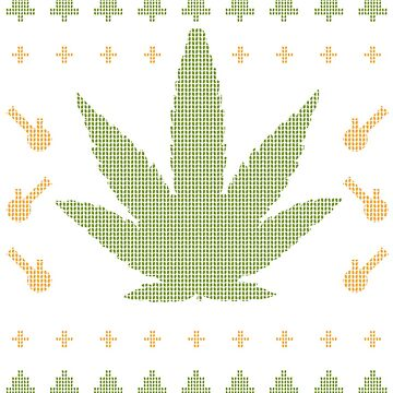 Cannabis Christmas by lifestyleswag