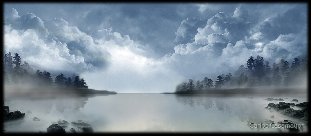 Bewitched lake 2 by Carlos Casamayor