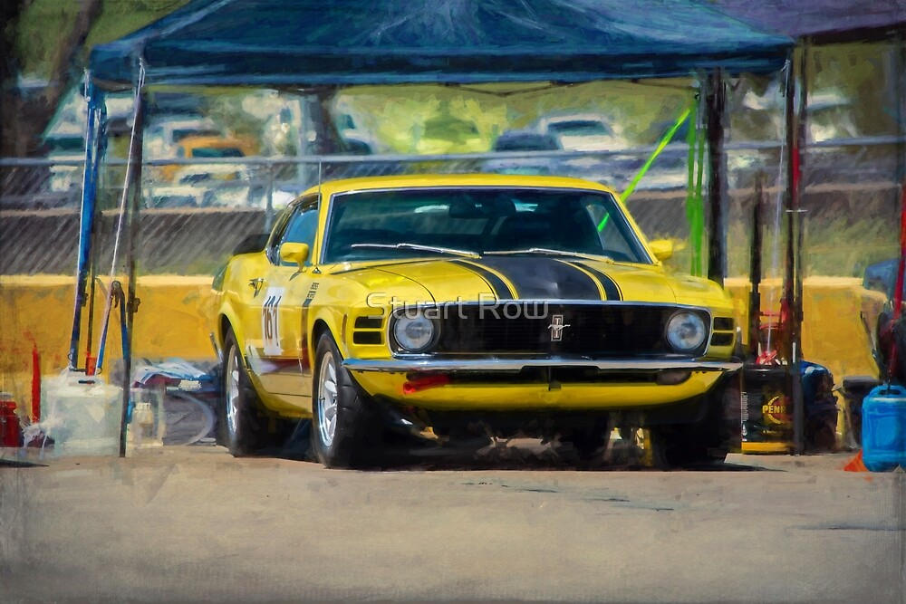1970 Mustang by Stuart Row