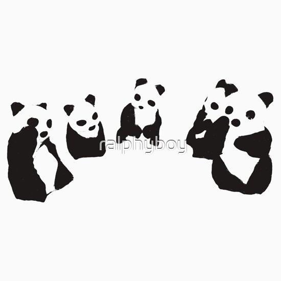 TShirtGifter presents: PANDA t-shirt