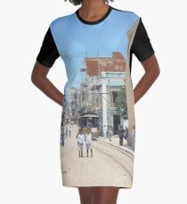 Old San Juan, Puerto Rico ca 1900 Graphic T-Shirt Dress