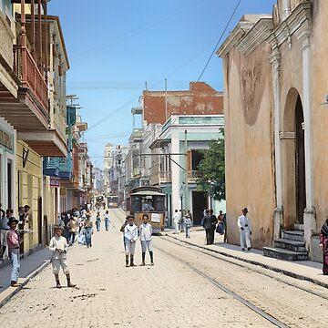 Old San Juan, Puerto Rico ca 1900 by SannaDullaway