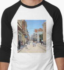 Old San Juan, Puerto Rico ca 1900 Baseball ¾ Sleeve T-Shirt