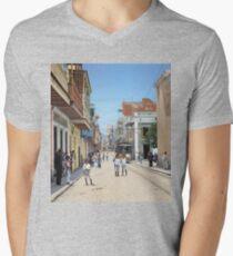 Old San Juan, Puerto Rico ca 1900 V-Neck T-Shirt
