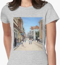 Old San Juan, Puerto Rico ca 1900 Fitted T-Shirt