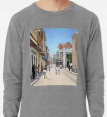 Old San Juan, Puerto Rico ca 1900 Lightweight Sweatshirt