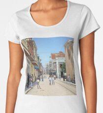 Old San Juan, Puerto Rico ca 1900 Premium Scoop T-Shirt