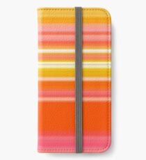 Sablo Lio Orange iPhone Wallet/Case/Skin