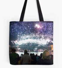 Sydney New Years Eve 2010 Tote Bag