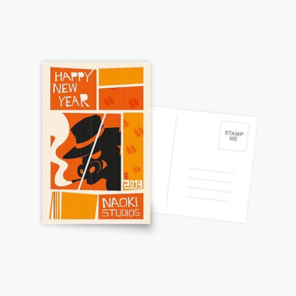 2019 New Years Card Postcard