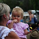 Mother and Child at the Rodeo by TonySlattery