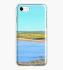 Lahinch Beach and Liscannor Bay on a Summer's Morning iPhone Case/Skin