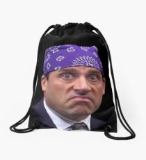prison mike Drawstring Bag