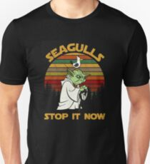 SEAGULLS STOP IT NOW Unisex T-Shirt