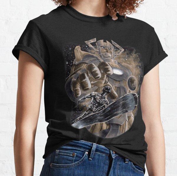Silver Surfer & Galactus  Classic T-Shirt