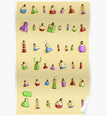 Potions! Poster