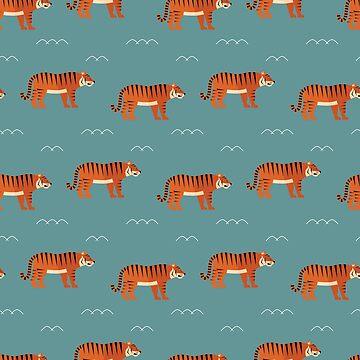 Tiger parade by reneesillus