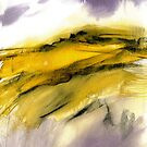 Autumn Moorland - Peak District Landscape Art Gift by Sian Vernon