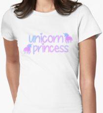 Unicorn Princess Ver. 1 Womens Fitted T-Shirt