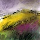 White Tor, Derwent Edge - Peak District Landscape art by Sian Vernon