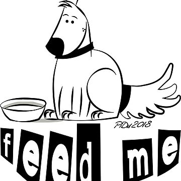 Feed your dog by cartoonblog