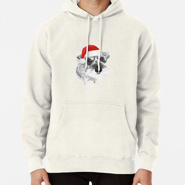 Christmas Schnauzer Pullover Hoodie