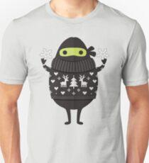 Ninjacado in Holiday Sweater Unisex T-Shirt