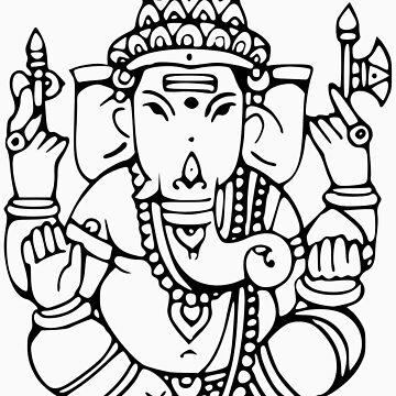 Ganesha 2 by buddhabubba