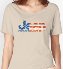 Jeep Wrangler  Women's Relaxed Fit T-Shirt