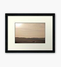 an inspiring Egypt landscape Framed Print