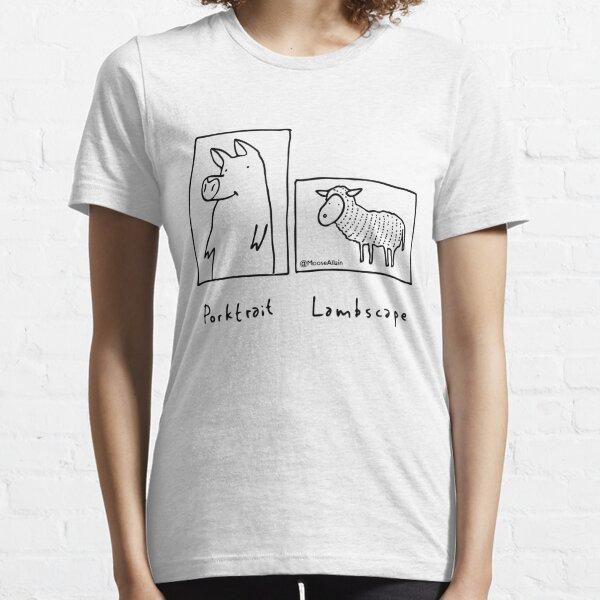 Porktrait Essential T-Shirt