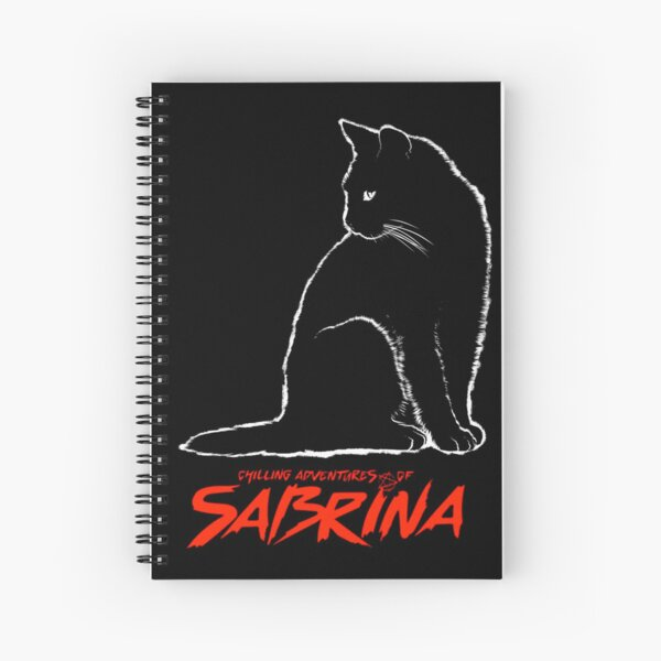 Chilling adventures of Sabrina, Sabrina the teenage witch, merch Spiral Notebook