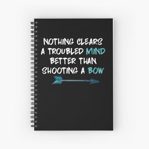 Archery Archery Spiral Notebook