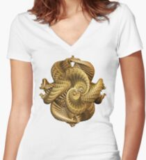 Teezers 157 Women's Fitted V-Neck T-Shirt