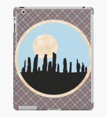 Scottish Standing Stones on Fraser Tartan iPad Case/Skin