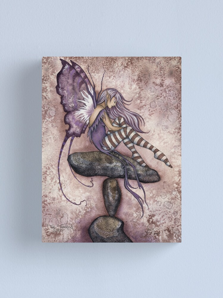 Alternate view of The Thinking Spot Canvas Print