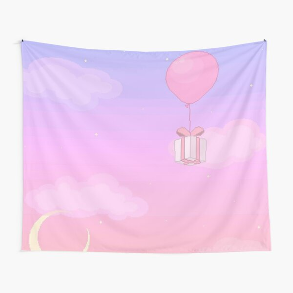 raibow balloon Tapestry