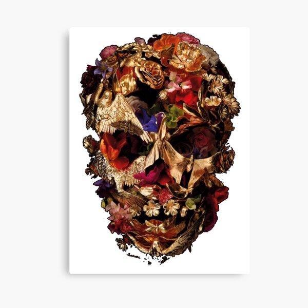 Skull mcqueen Canvas Print
