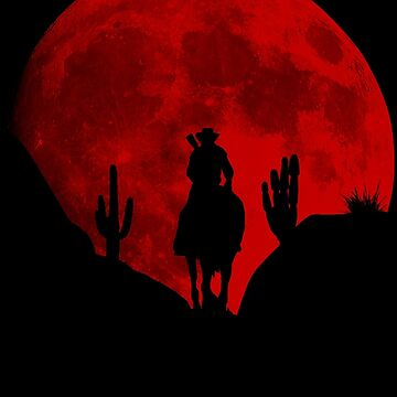 Red Moon Cowboy - Red Deal Redemption 2 by karyatik