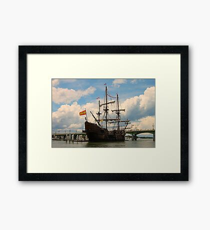 A Pirates Way Framed Print