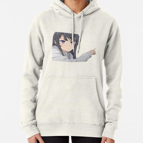 Long Sleeve Anime Gift Sweatshirt Hoodie Anime Gothic Demon Girl Waifu T-Shirt Bunny Girl Senpai Hentai Shirt Goblin Girl Shirt