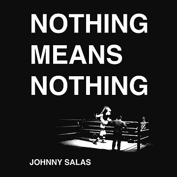 Nothing Means Nothing - Cover Art by TolsunBooks