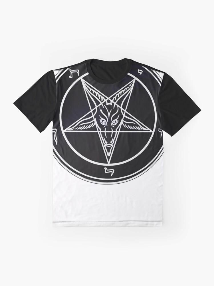 Alternate view of Baphomet Graphic T-Shirt