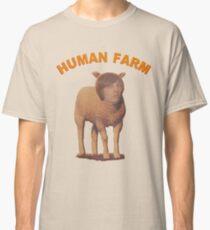 Menschlicher Bauernhof Classic T-Shirt
