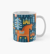 Fairy Tale in Blue + Orange Classic Mug