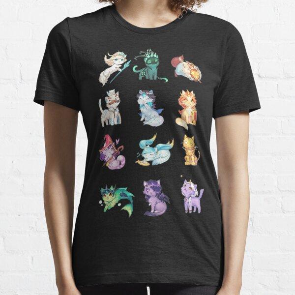 Liga de gatos de apoyo Camiseta esencial