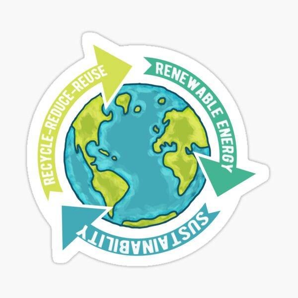 Earth Sustainability Sticker