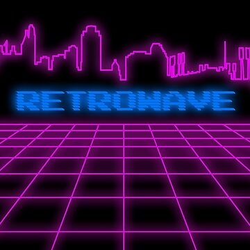 Retrowave, Synthwave Design For The Eighties Music Lovers by Tengerimalac75