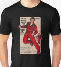 Kenner Six Million Dollar Man Anzeige Slim Fit T-Shirt