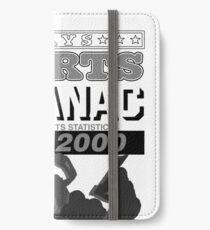 Back to the Future Almanac B&W iPhone Wallet/Case/Skin